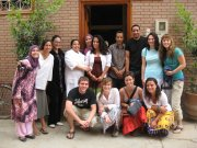 Cecu Staff with Anthroplogy Group from Quinnipiac University USA
