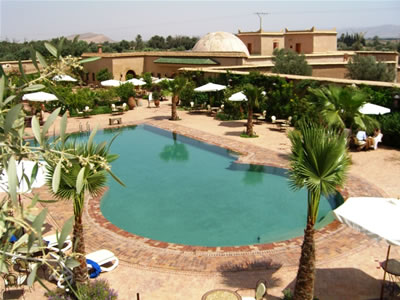 Dar Zitoune - Pool and Gardens