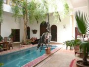Courtyard at Riad El Zohar