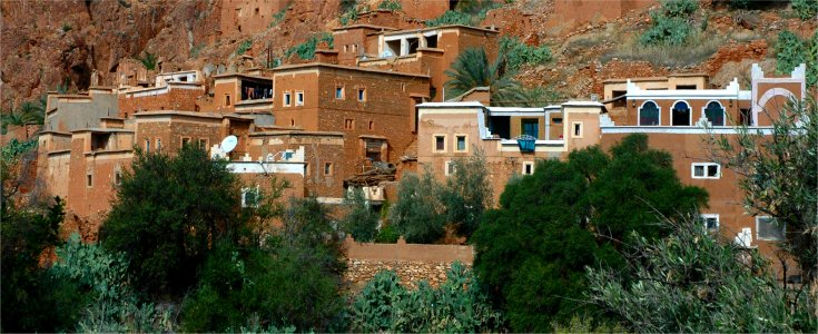 Traditional Housing Near Tafraoute