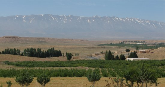 Midelt - View of Atlas Mountains
