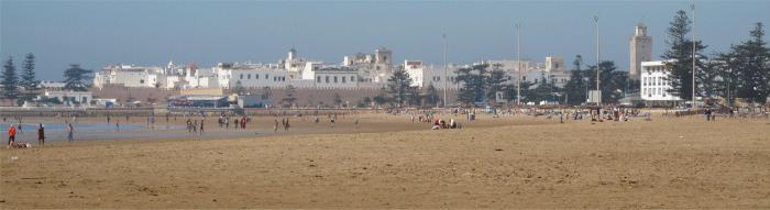 The Beach at Essaouira