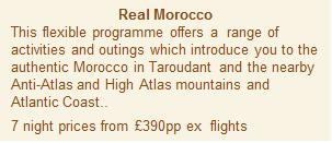 Real Morocco Itinerary