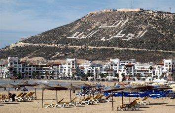 Atlantic coast Agadir