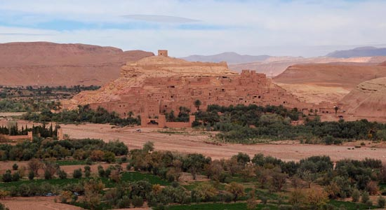 Approx 4 hours east of Marrakech