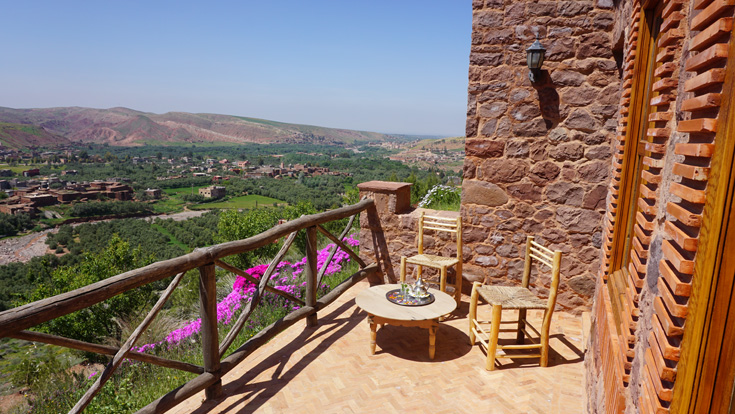 Assif standard room terrace
