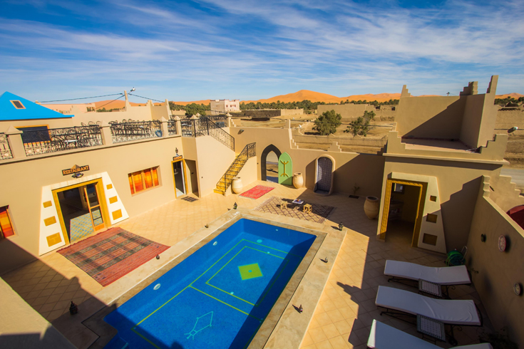View of Dunes from Hotel