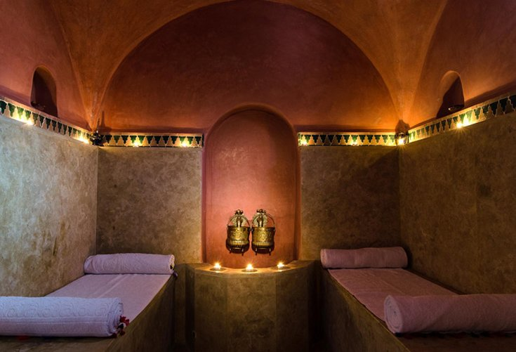 Hammam & Massage room
