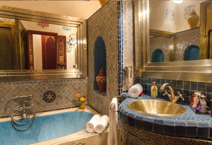 Sharaf suite bathroom