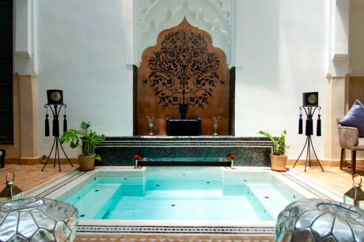 Riad star holidays to marrakech marrakech holidays for Josephine baker pool