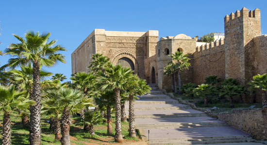 Bab Oudaïa entrance to Oudaïas Kasbah