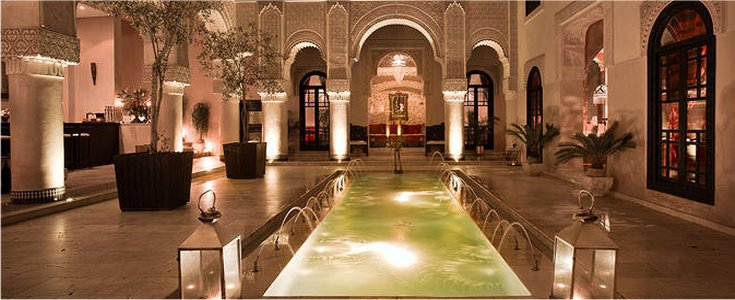 Elegant boutique hotel in the medina