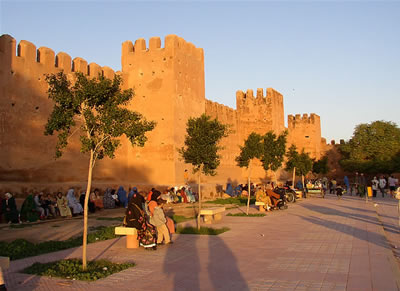 Medina Walls in Taroudant