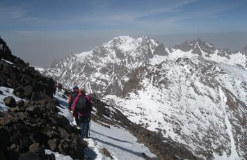 Ascent of Toubkal