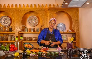 Cookery at La Maison Arabe